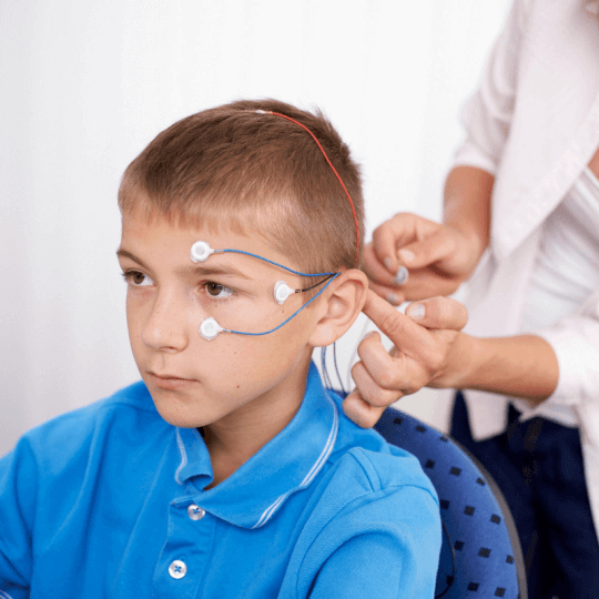 child doing neurofeedback sq